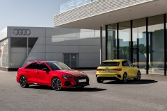 Audi S3 Sedan; Audi S3 Sportback 2020