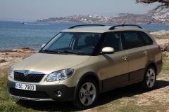 Škoda Fabia Combi Scout 2010