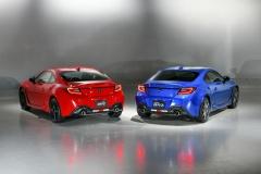 Toyota GR 86 a Subaru BRZ 2021