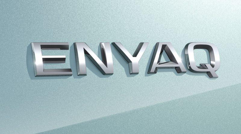 Škoda Enyaq logo