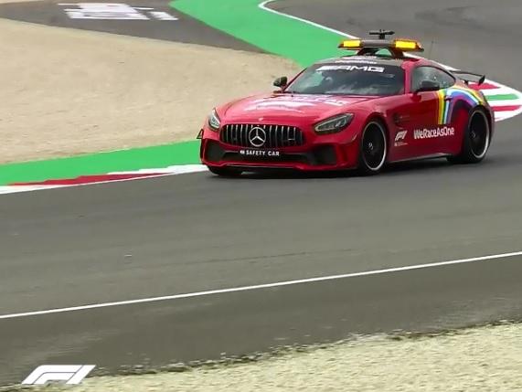 Velká cena Toskánska 2020 Formule 1: Safety car