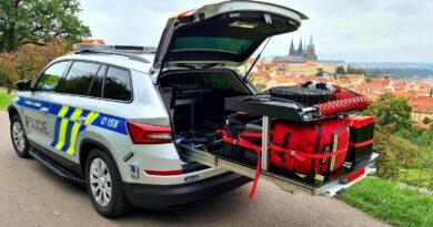Škoda Kodiaq Policie