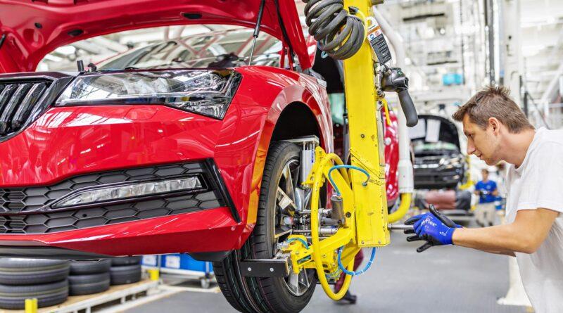 Škoda Superb: Výroba v Kvasinách
