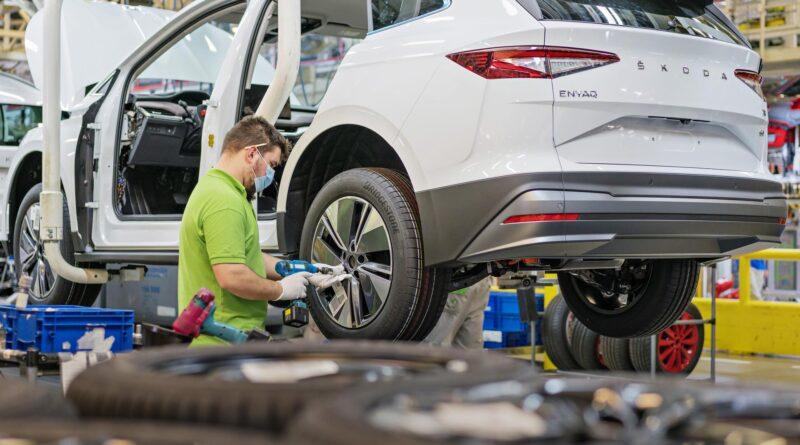 Škoda Enyaq iV: Zahájení výroby v Boleslavi v listopadu 2020