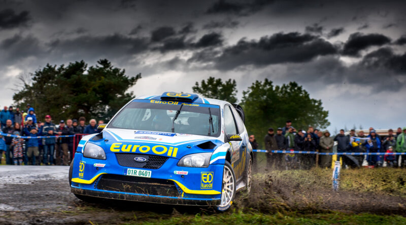 Václav Pech za volantem Fordu Focus WRC