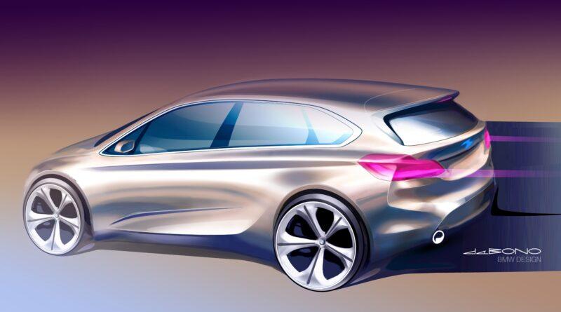 BMW 2 Active Tourer sketch