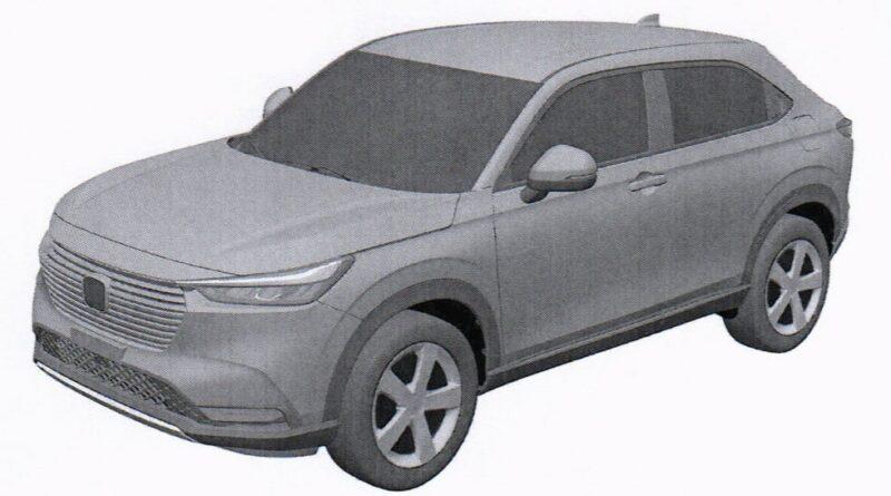 Honda HR-V 2021 Patentový snímek