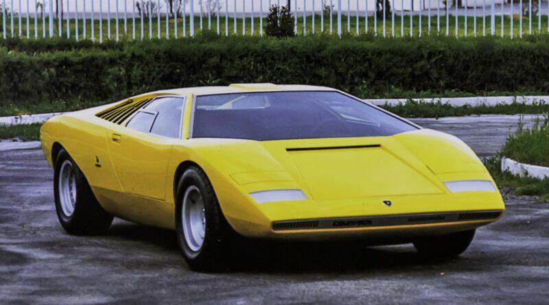 Lamborghini Countach LP500 1971