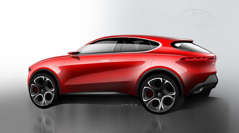 Alfa Romeo Tonale Concept skica 2019