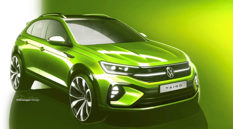 Volkswagen Taigo sketch 2021