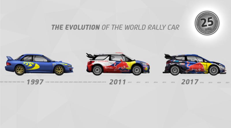 WRC: Vývoj world rallye car