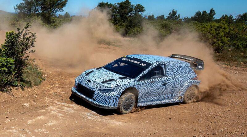 Hyundai i20 N WRC prototyp pro rok 2022