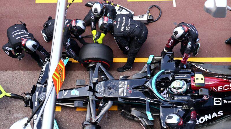 Mercedes-AMG F1 Valtteri Bottas na VC Monaka 2021