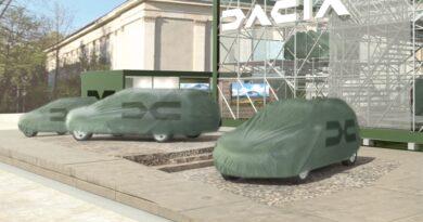 Dacia chystaný stánek na IAA 2021