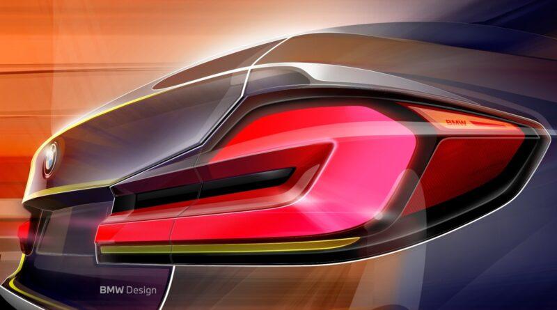 BMW 5 2020 sketch