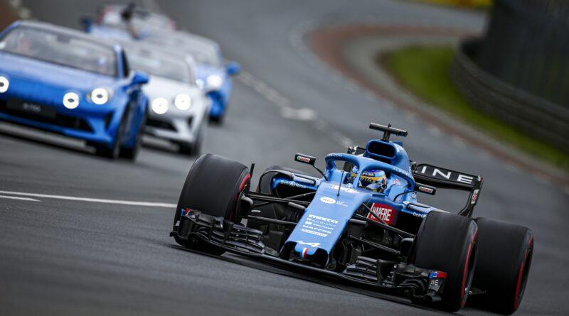Formule 1 v Le Mans 2021