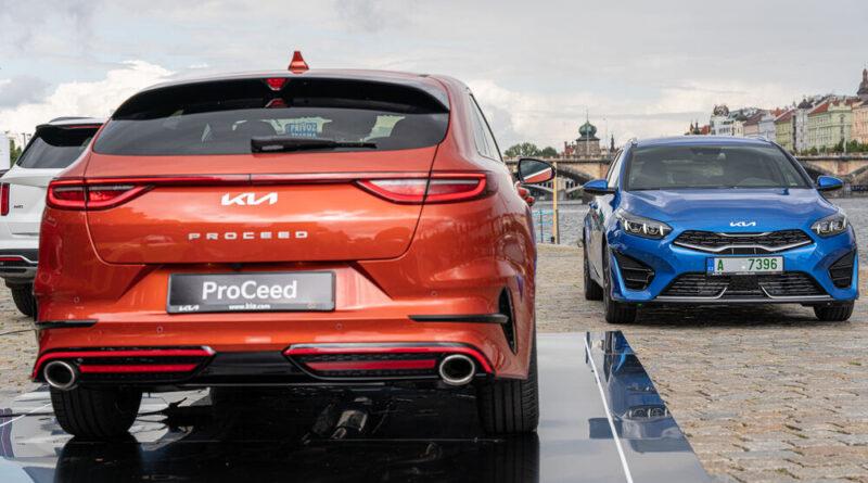 Kia ProCeed GT Ceed SW facelift MY 2022