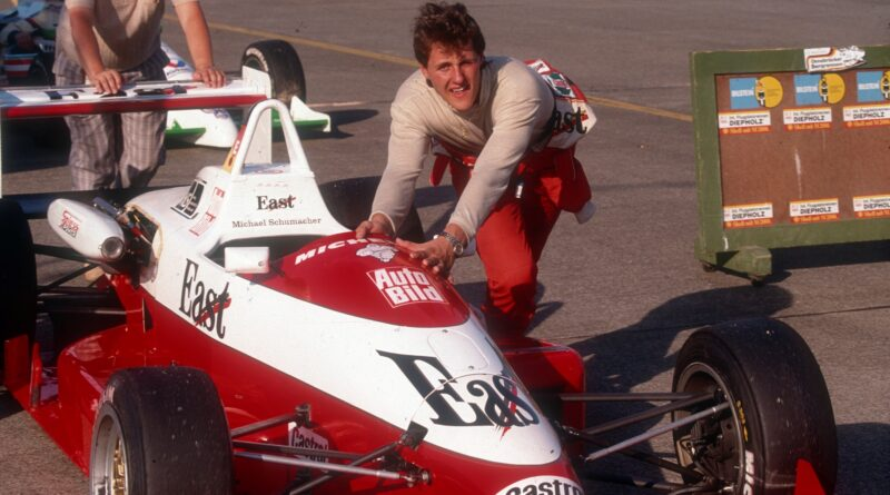 Michael Schumacher v roce 1990