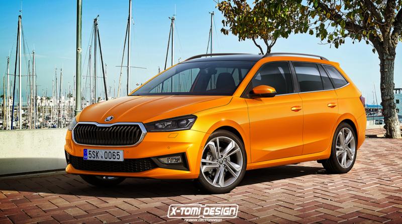 Škoda Fabia Combi vision by Xtomi