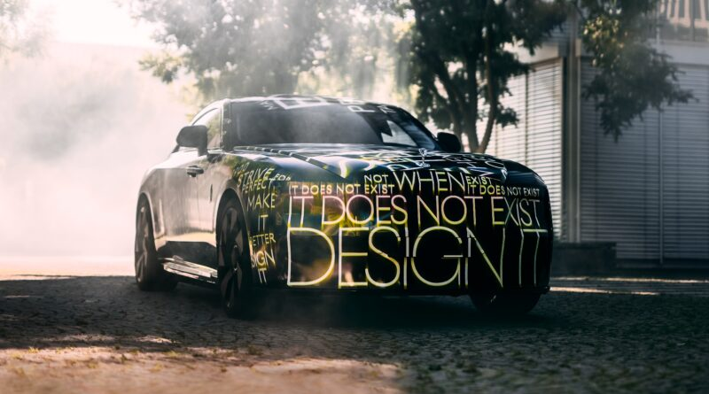 Rolls-Royce Spectre prototype