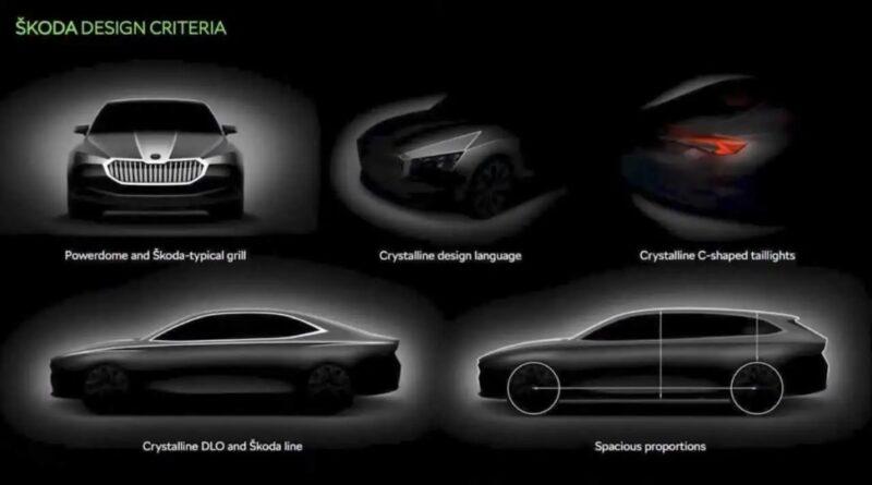 Škoda Superb sketch 2013