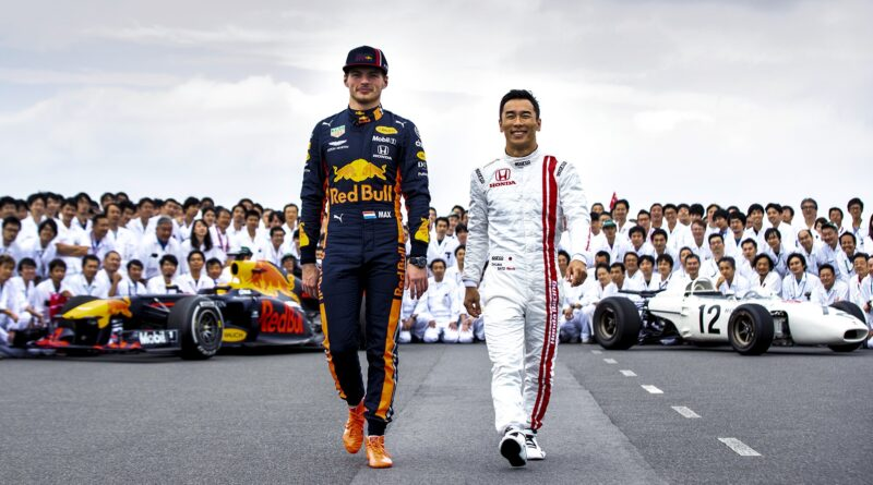 Red Bull Racing Honda zbarvení pro VC Turecka 2021