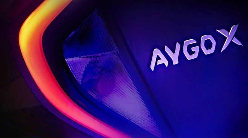 Toyota Aygo X teaser